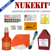 Nukekit1 Premium Radiation Protection for 1 person